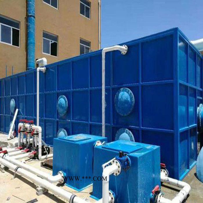 曝气生物滤池 废水处理生物除臭箱 集装箱式曝气生物滤池 -河北浩麒