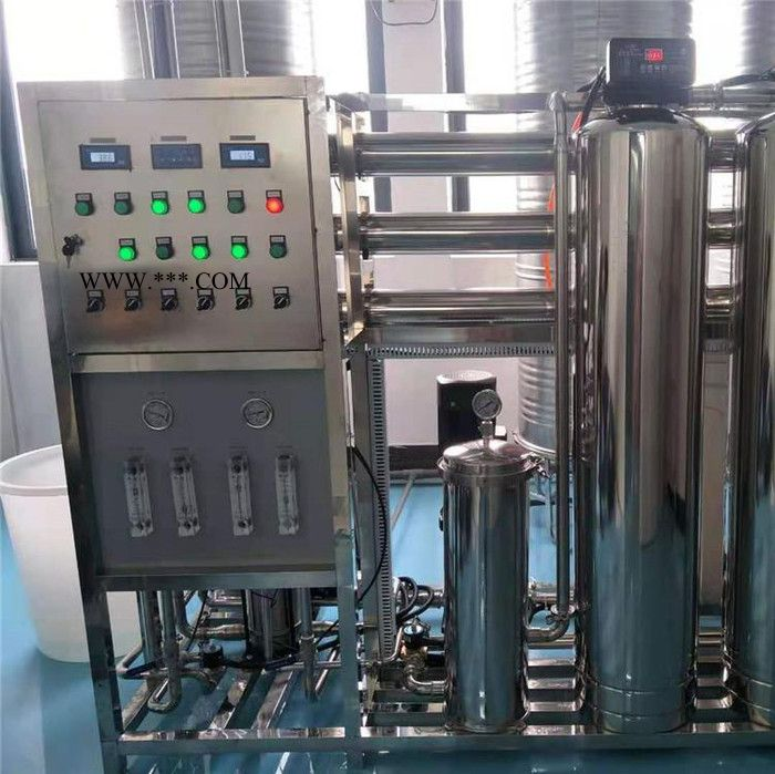 二级反渗透设备_1t工业ro反渗透净水处理_供应反渗透纯水设备_纯化水设备厂家