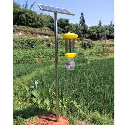 太阳能频振式杀虫灯 托普云农LED频振式杀虫灯 果园杀虫灯