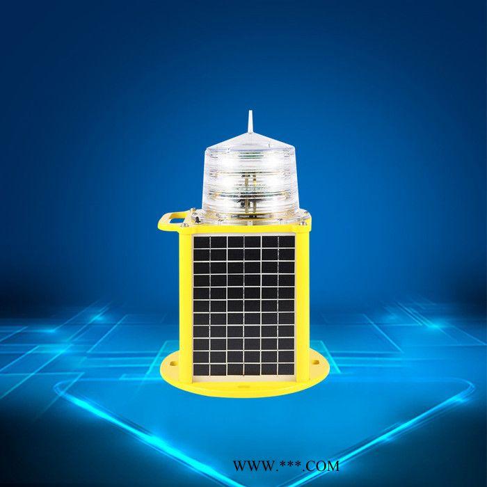 建航 塔机太阳能警示灯 塔机太阳能障碍灯 夜间高危警示塔机配件示警灯无线同步LED障碍灯、GPS航标灯 155LED航空