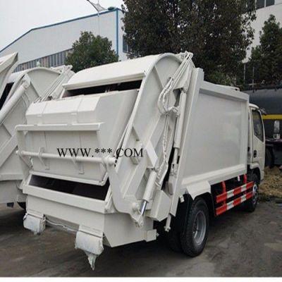 程力东风5方多利卡压缩式垃圾车** 环卫垃圾车 压缩垃圾车厂家