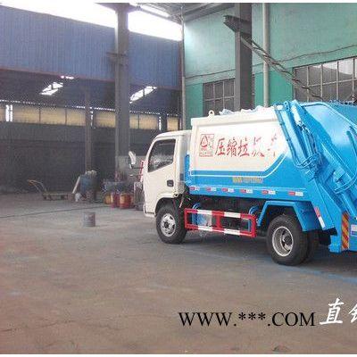 东风多利卡8吨后装垃圾压缩车|环卫垃圾车生产厂家