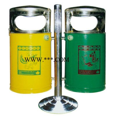 厂家批发供应贵州省内环卫垃圾箱分类、果皮箱现货供应 量大从优