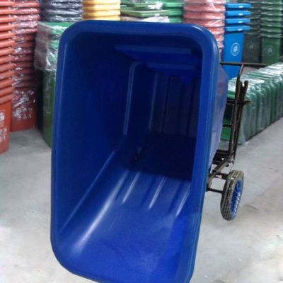 广州深圳环卫垃圾清运车设计找麦穗P-W105 450L废物清运倾卸斗车