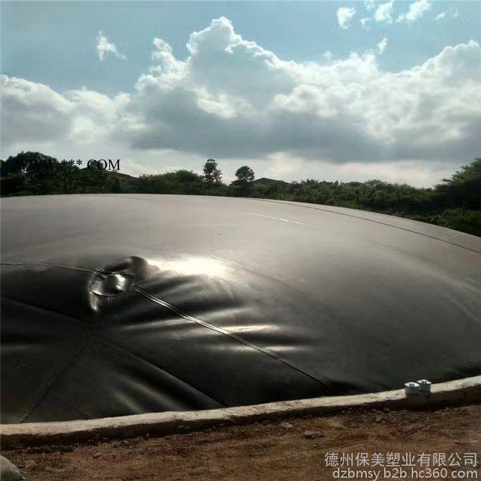 长期直销沼气池用1.5mm国标防渗膜 黑色6米 施工方便