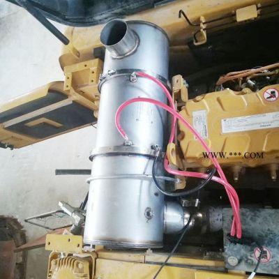 【东莞颗粒捕集器厂家供应】备用电源颗粒捕集器 玉柴YC12VC1680干式尾气净化器 柴油机组烟气过滤器