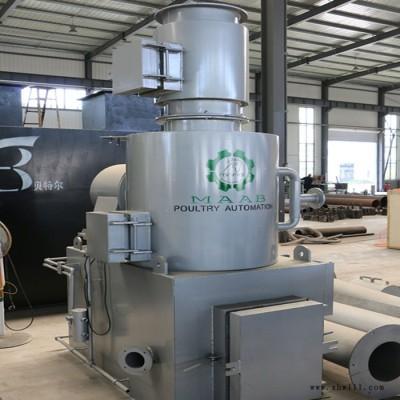 山东垃圾处理设备 厂家贝特尔环保 二次燃烧 燃烧充分 现货销售