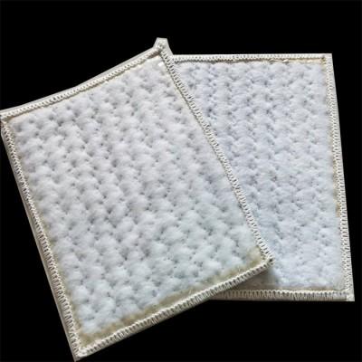垃圾填埋厂膨润土防水毯 厂家生产 量大优惠 污水池复合防水毯 人工湖防水毯