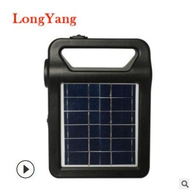 跨境专供 太阳能系统灯 太阳能发电系统家用太阳能灯Solar System