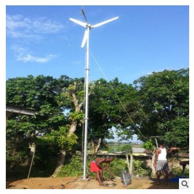 欧亚玛厂家供应水平轴2kw3kw风机发电机