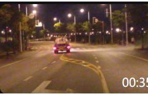 00:35 洒水车 清洁车 喷水车 马路清洁车 环卫工夜间作业