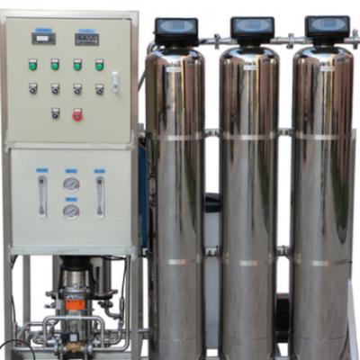 0.5T食品级不锈钢304小型工业RO反渗透纯水设备 一体式去离子水机